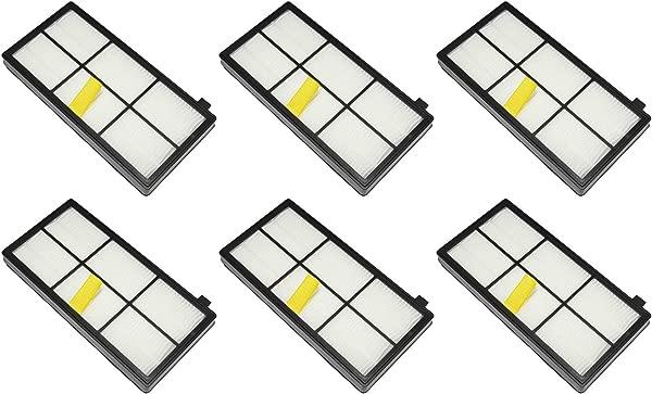 IRobot 4415864 AeroForce High Efficiency 800 900 Series Roomba Filters 2 3 Packs