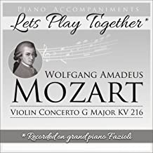 Best mozart violin concerto in g major piano accompaniment Reviews