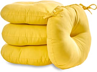 outdoor chair cushions yellow