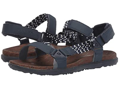 Merrell Around Town Sunvue Woven (Navy) Women