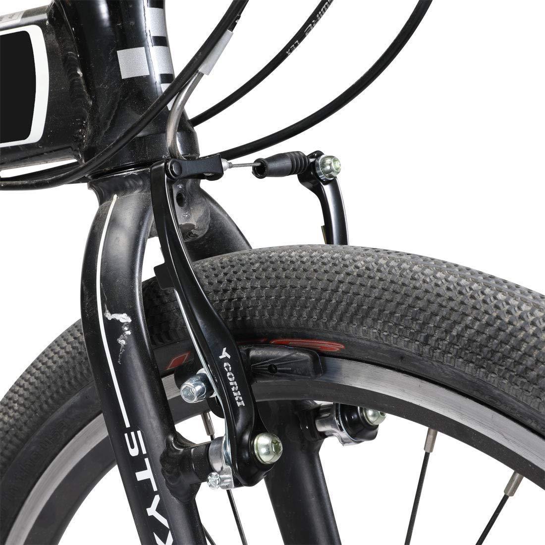 Couple Kit Bike Brake Front Rears V-Brake Polished Aluminium MTB//City-Holland