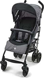 Babylo Metro lightweight compact stroller, from birth to 15kg, one-hand backrest adjustment