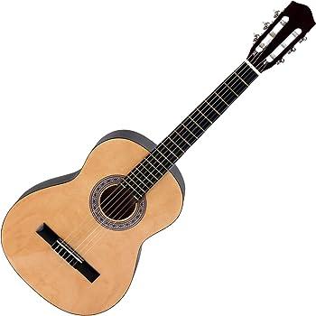 Cálida Benita CB12N - Guitarra clásica 1/2, color natural: Amazon ...