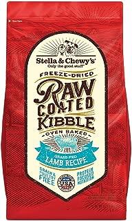 Stella Chewy 3.5# Raw Coated Lamb Kibble