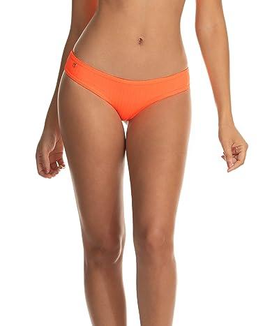 Maaji Orangesicle Sublime Reversible Signature Cut Bottoms (Orange) Women