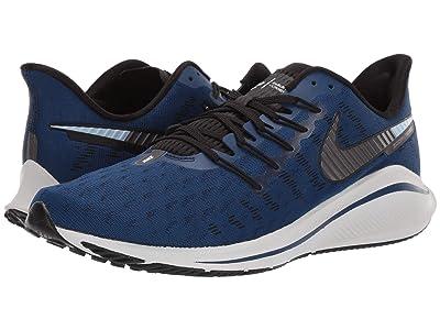 Nike Air Zoom Vomero 14 (Coastal Blue/Metallic Dark Grey/Black) Men