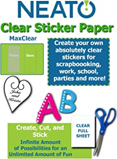 Best clear window decals for inkjet printers Reviews