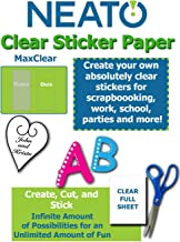 Printable Transparent Sticker Paper - 8.5