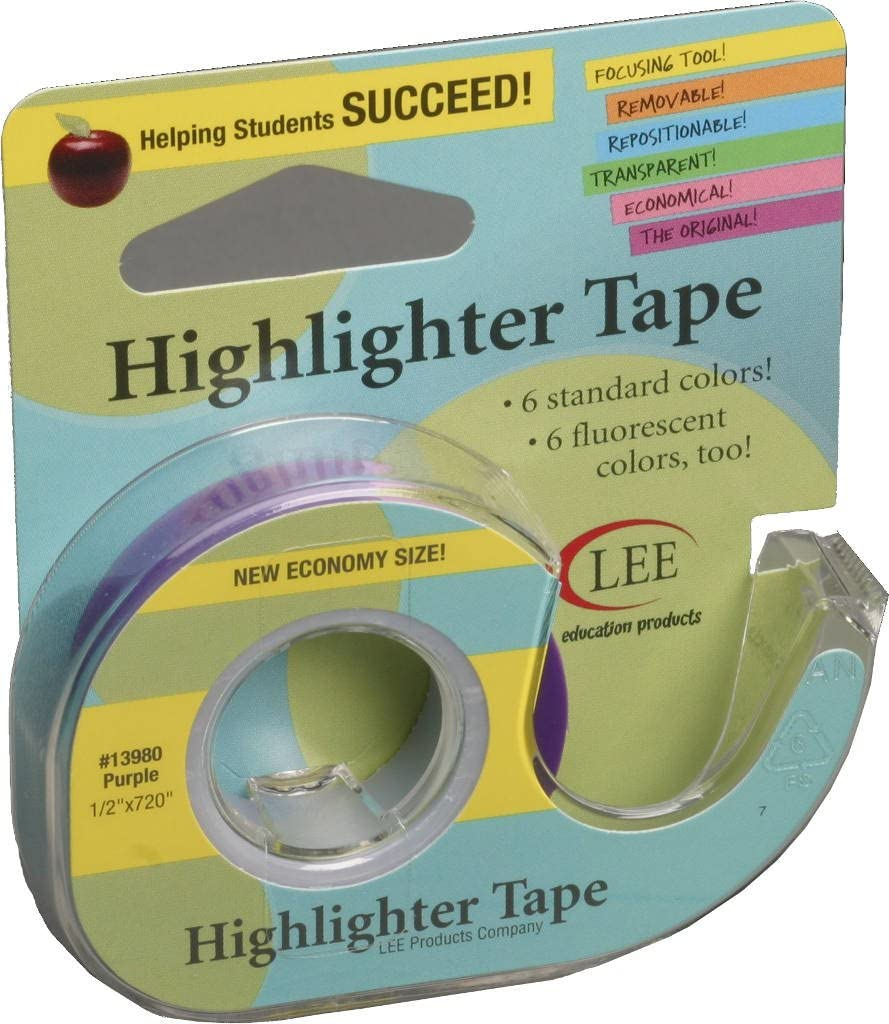 Lee Products Co. 1 Free Shipping Cheap Bargain Gift 2-Inch Highlight Removable New popularity Long 720-Inch Wide
