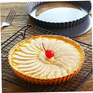 Byfri Parte Inferior Pie Cake Tarta extraíble Antiadherente Molde para Hornear Pasteles de Molde de la Herramienta