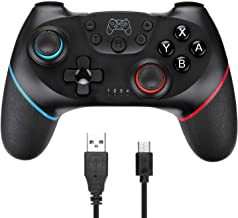 Wireless Controller for Nintendo Switch, TGJOR Wireless Switch Gamepad Compatible with Nintendo Switch Console, Built-in Motor with Dual Shock, Gyro Axis (Turbo Buttons)