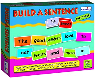 Creative's Build A Sentence - 3 0940  Fun way to learn how to make correct sentence! For children 8 Yrs and above