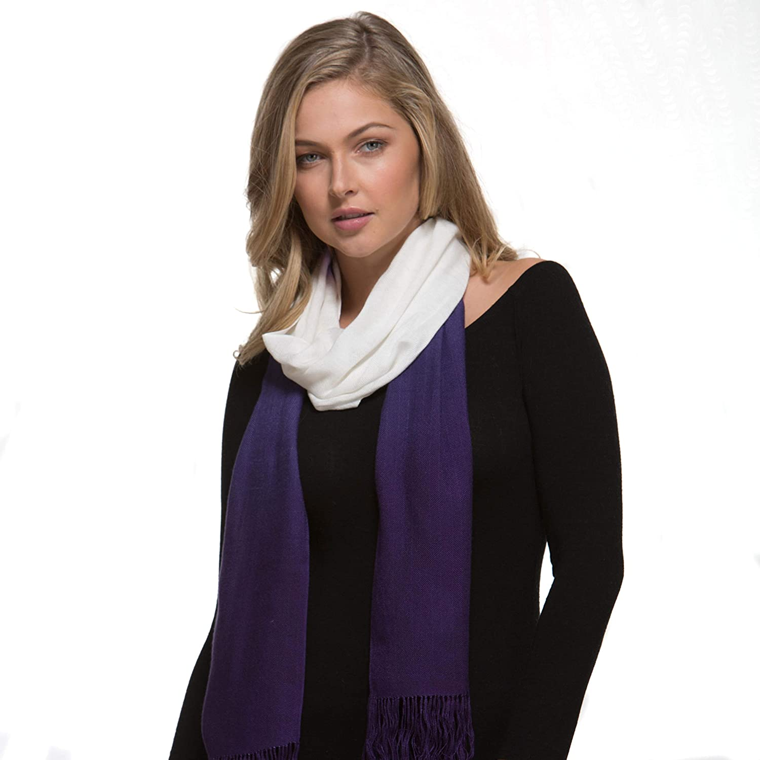 Bamboo Scarf DipDyed Contemporary  The Tsandza Collection