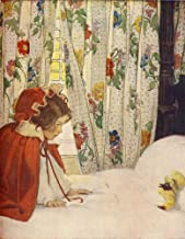 The Now-a-Days Fairy Book 1911 Little Red Riding Hood Poster Print by Jessie Willcox Smith (18 x 24)