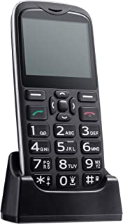 ISHEEP [D210] 4G Big Button Senior Unlocked Cell Phone, SOS Button, Easy to Use