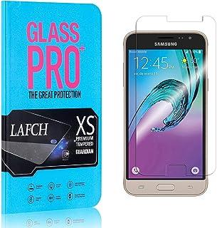 1 Pièces Verre Trempé pour Galaxy J3 2016 / Galaxy J3 2015, FCLTech Protection D'écran, Film Protection 9H Dureté, Protect...