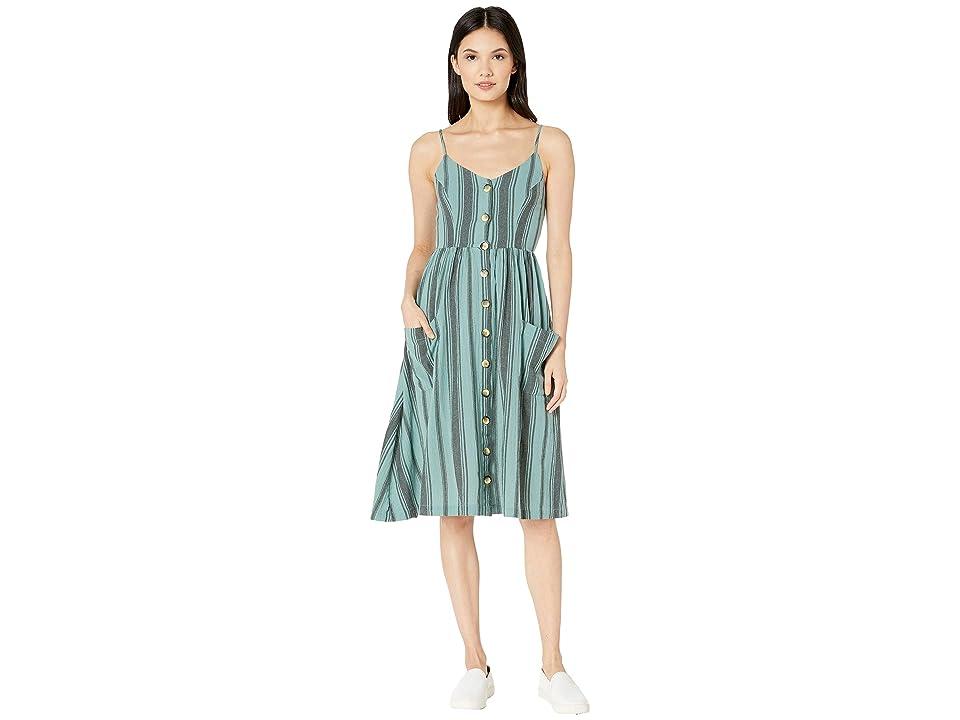 Rip Curl My Tide Midi Dress (Sea Fog) Women