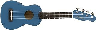 Fender Venice Soprano Ukulele - Lake Placid Blue