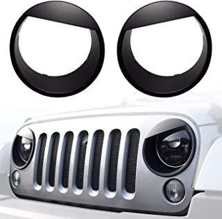 Best jeep headlight covers Reviews