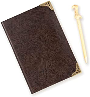 """HARRY POTTER Tom Riddle Journal with Voldemort Wand Pen - 192 Blank Pages with Bookmark - 8.5"""" x 6"""""""