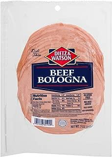 Dietz & Watson Pre-Sliced Beef Bologna, 7 oz