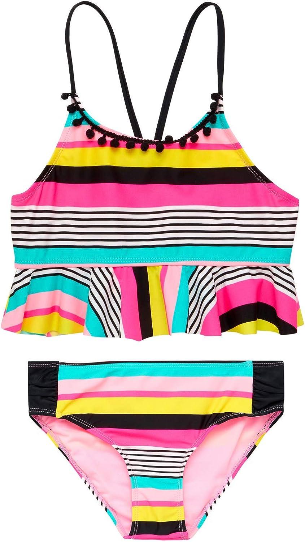 Limited Too Girls' Bathing Nippon regular agency Suit 2-Piece - Tankini Large special price !! Swimsui Bikini