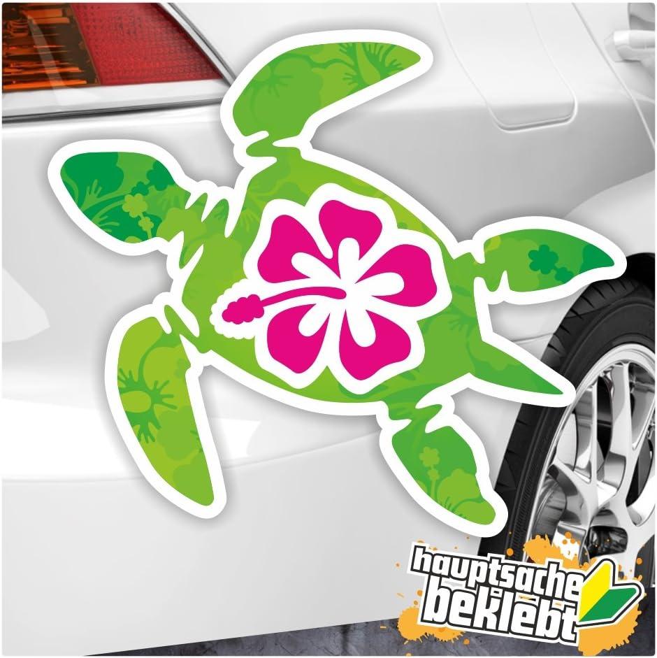 Kiwistar Schildkröte Hawaii In 7 Größen Erhältlich Aufkleber Mehrfarbig Sticker Funsticker Colored Auto