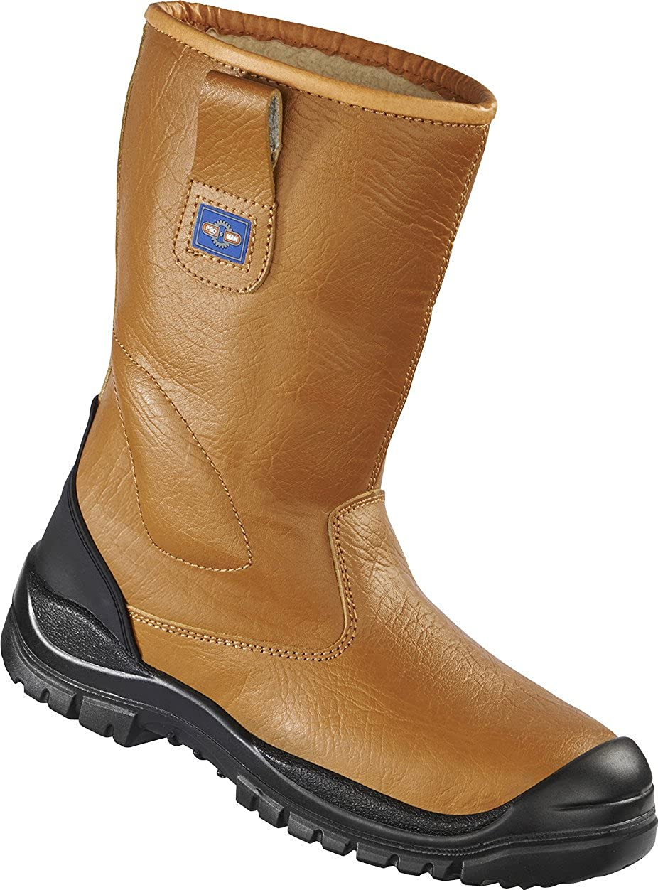 Click RBLS Safety Rigger Work Boots Steel Toe Cap Mid-sole Fur Lined