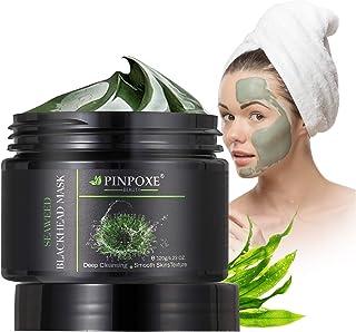 Blackhead Remover Maske, Peel Off Maske, Mitesser Maske, Anti Aging Mask, Gesichtsmaske mit Algen, gegen unreine Haut, fettige Haut& Mitesser, 100% Natural Gesicht & Körper Maske