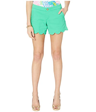 Lilly Pulitzer Buttercup Stretch Shorts (Myrtle Green) Women