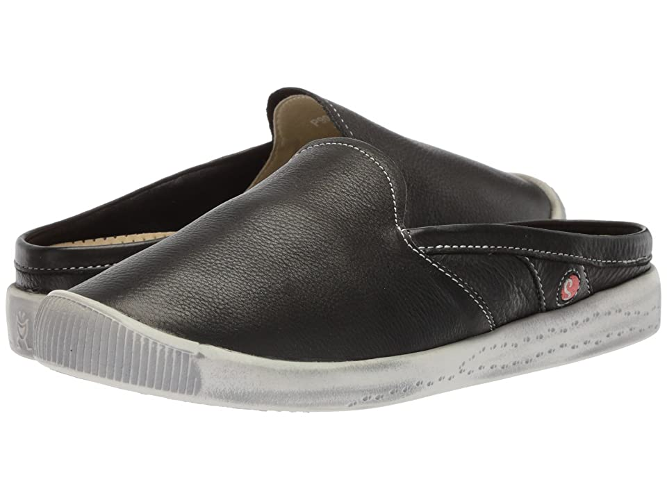 FLY LONDON IMO447SOF (Black Smooth Leather) Women