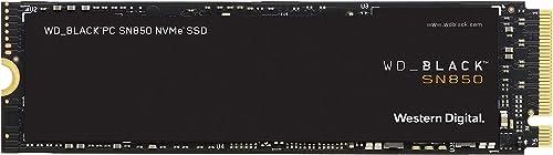 WD_BLACK SN850 500Go NVMe Disque SSD Interne pour les Jeux; Technologie PCIe Gén4, Vitesse de Lecture Jusqu'à 7000...