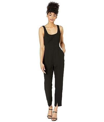 BCBGeneration Fitted U-Neck Tapered Jumpsuit- GEF9265335 (Black) Women