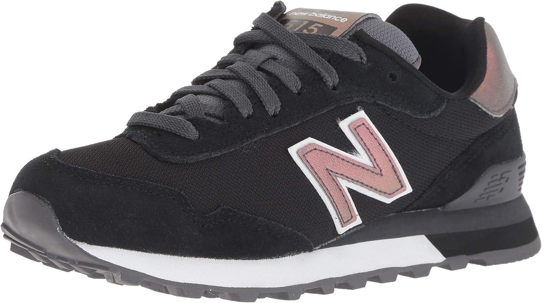 New Balance Women's 515v1 Sneaker, Black, 5.5 B US