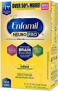 Enfamil NeuroPro Infant Formula - Brain Building Nutrition Inspired by Breast Milk - Powder Refill Box, 31.4 oz