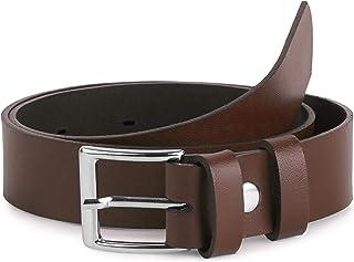 Ladeheid Cintura per Bambini in 100% Vera Pelle 2,5 cm Extra-Spessa K1D5
