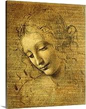 Head of a Young Woman La Scapigliata, by Leonardo da Vinci, c. 1508