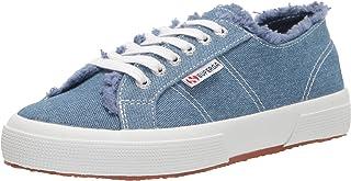 Superga 2750 Frayed Denim womens Sneaker