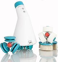 دستگاه ماساژ ضد سلولیت Glo910 IR با 4 سر قابل تعویض پاها ، بدن ، Butt ، ران ها ، ماساژور نفوذ عمیق برای کاهش سلولیت سلولیت شامل کیف قابل حمل