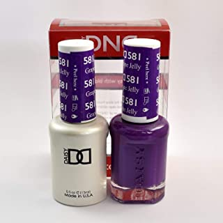 DND Gel and Matching Polish #581 Grape Jelly