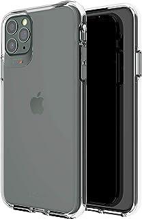 جير فور اغطية وحافظات لجوال ايفون 11 برو ماكس، شفاف