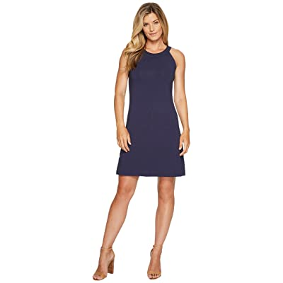 Tommy Bahama Tambour Sleeveless Short Dress (Ocean Deep) Women
