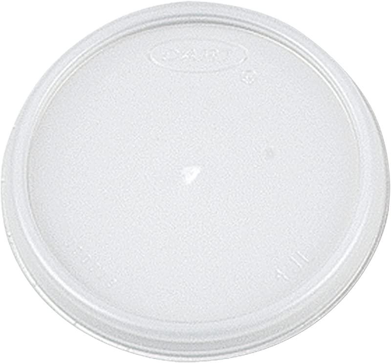 Dart 4JL Plastic Lids 4oz Cups Translucent 100 Sleeve 10 Sleeves Carton
