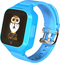 3G GPS Tracker Best Waterproof Wrist Smart Phone Watch for Kids with Sim Slot Camera Anti Lost Fitness Tracker Birthday Holiday for Children Boys Girls iPhone Android Smartphone