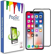 POPIO Tempered Glass for Apple iPhone XR (Transparent)-Edge to Edge Full Screen Coverage