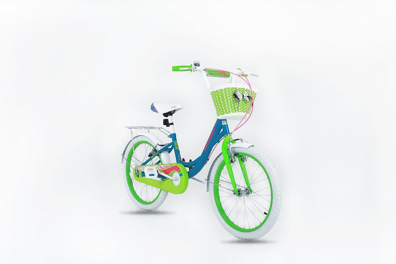 GW bikes Princess Mdchen Fahrrad–50,8cm Rad Fahrrad mit Korb–geeignet für Alter 5–12Jahre–Hhe 3'25,4cm–4' 15,2cm