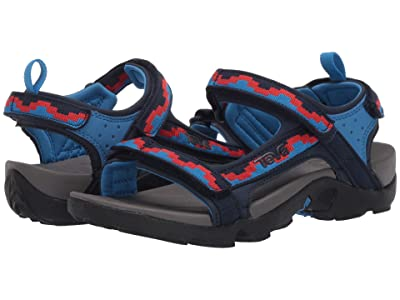 Teva Kids Tanza (Little Kid/Big Kid) (Steps Black Iris) Kid