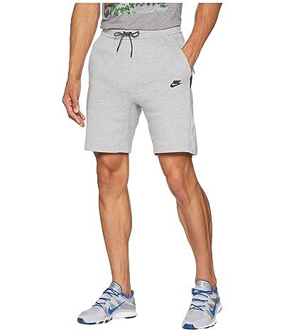 Nike NSW Tech Fleece Shorts (Dark Grey Heather/Dark Grey/Black) Men