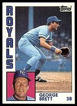 1984 Topps #500 George Brett NM-MT Kansas City Royals Baseball