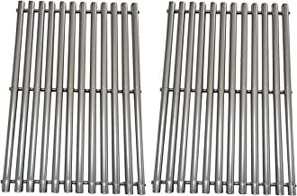 BBQration 2pack 7MM Rod Stainless Steel Cooking Grid Replacement Fit Charbroil 463411512, Kenmore 122.16134110, 720-0773, Master Forge 1010037 and Nexgrill 720-0773 Gas Grill Models